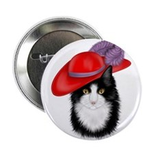 """Red Hat 2.25"""" Button (10 pack)"""