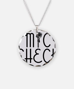 Mic Check Necklace