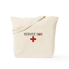Service Dog Tote Bag