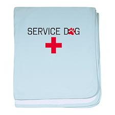Service Dog baby blanket