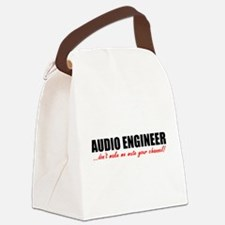 Mute Your Channel Canvas Lunch Bag