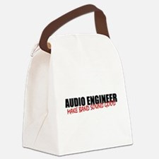 Audio Engineer Canvas Lunch Bag
