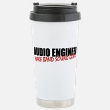 Audio Engineer Stainless Steel Travel Mug