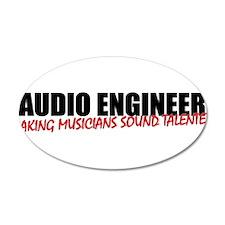 Audio Engineer Wall Decal