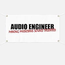 Audio Engineer Banner