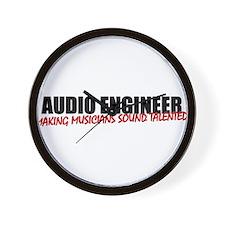 Audio Engineer Wall Clock