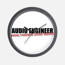 Audio Engineer Wall Clock