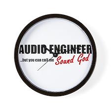 Sound God Wall Clock