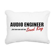 Sound King Rectangular Canvas Pillow