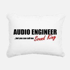 Sound King Rectangular Canvas Pillow