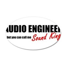 Sound King Wall Decal