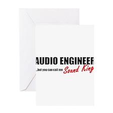 Sound King Greeting Card