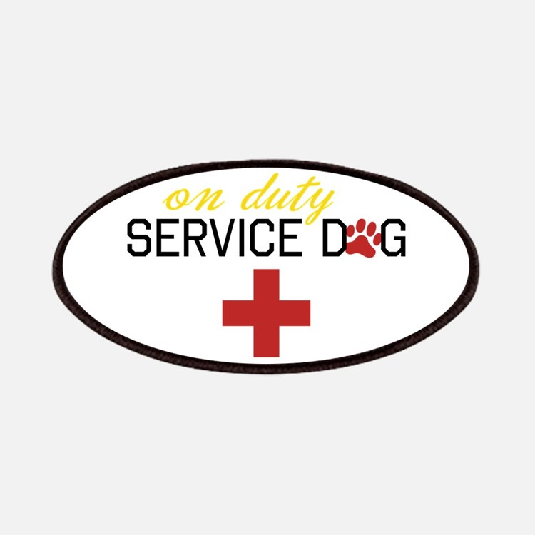 On Duty Service Dog Patches