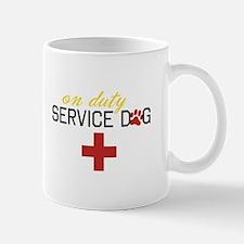 On Duty Service Dog Mugs