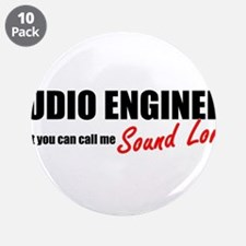 "Sound Lord 3.5"" Button (10 pack)"