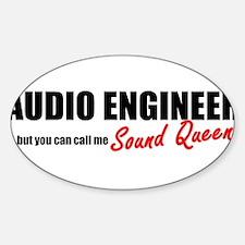 Sound Queen Sticker (Oval)