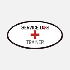 Service Dog Trainer Patches