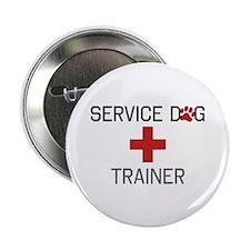"""Service Dog Trainer 2.25"""" Button"""
