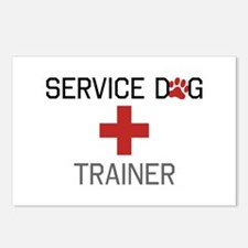 Service Dog Trainer Postcards (Package of 8)