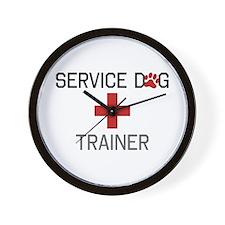 Service Dog Trainer Wall Clock