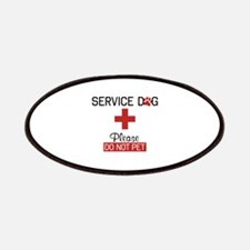 Service Dog Please Do Not Pet Patches