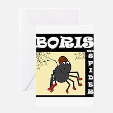 Boris The Spider Greeting Card