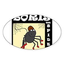 Boris The Spider Decal