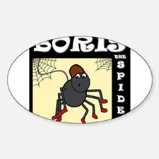 Boris The Spider Decal