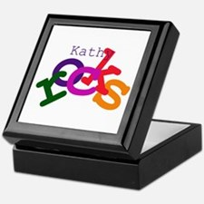 Kathy Rocks Keepsake Box