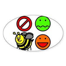 Dont Worry Bee Happy Decal