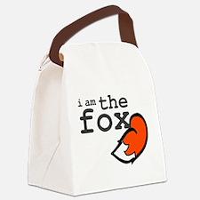 I Am The Fox Canvas Lunch Bag