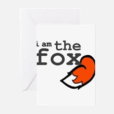 I Am The Fox Greeting Cards (Pk of 20)
