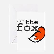 I Am The Fox Greeting Card