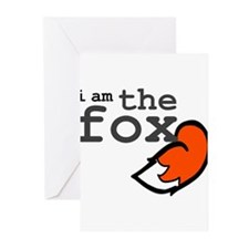 I Am The Fox Greeting Cards (Pk of 10)