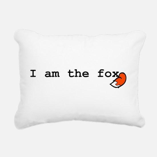 I Am The Fox Rectangular Canvas Pillow