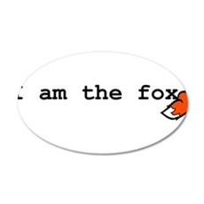 I Am The Fox Wall Decal