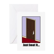 Just Beat It... Greeting Card