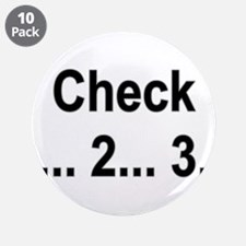 "Mic Check 3.5"" Button (10 pack)"