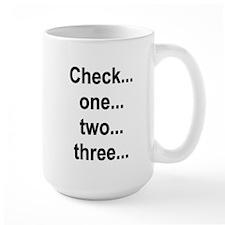 Mic Check Mug