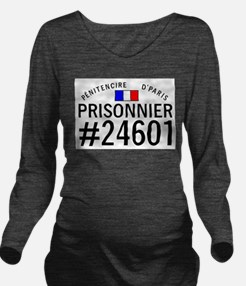 Prisonnier #24601 Long Sleeve Maternity T-Shirt