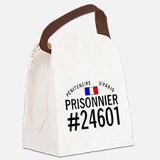 Prisonnier #24601 Canvas Lunch Bag
