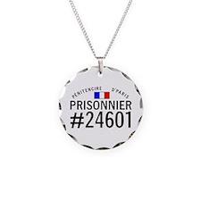 Prisonnier #24601 Necklace