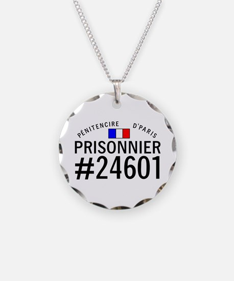 Prisonnier #24601 Necklace