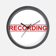 Recording Wall Clock