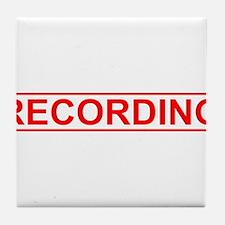 Recording Tile Coaster