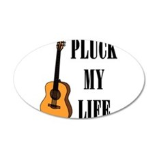 Pluck My Life (Gtr) Wall Decal