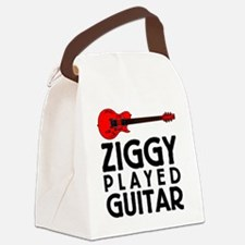 Ziggy Played Guitar Canvas Lunch Bag