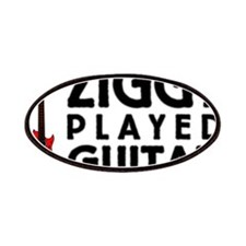 Ziggy Played Guitar Patches