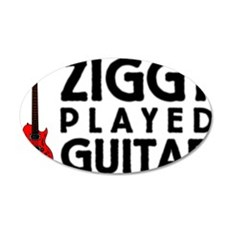 Ziggy Played Guitar Wall Sticker