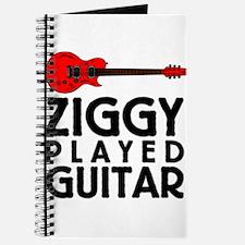 Ziggy Played Guitar Journal